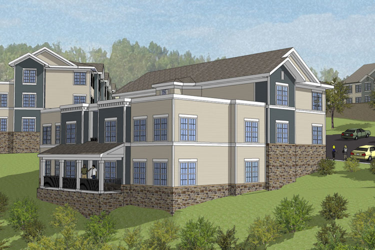 Burgess Mill 2 — Front View Rendering